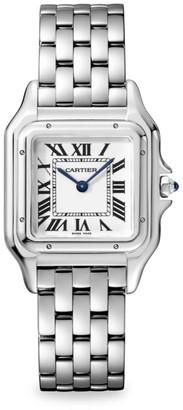 Cartier Panthere de Medium Stainless Steel Bracelet Watch