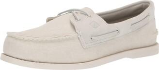 Sperry mens A/O 2-eye Linen Boat Shoe