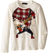 Junior Gaultier Guitarist No Head Tee Shirt Boy's T Shirt