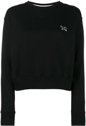 Calvin Klein Crew Neck Sweatshirt With Embroidery