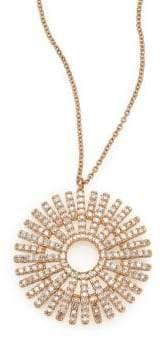 Astley Clarke Rising Sun Diamond& 14K Yellow Gold Pendant Necklace