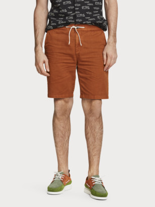 Scotch & Soda Cotton-Linen Shorts | Men