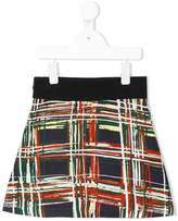 Marni flared printed skirt