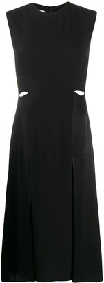 Victoria Victoria Beckham Cut-Out Waist Mini Dress