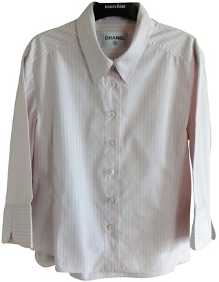 Chanel Pink Cotton Top for Women