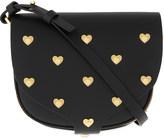 Sophie Hulme Barnsbury heart studded saddle bag