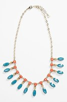 Nordstrom Metal Haven by Kendall & Kylie Skull Necklace (Juniors Exclusive)