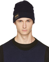 Stella McCartney Navy members and Non Members Only Beanie
