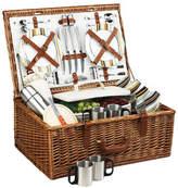 Picnic at Ascot Dorset Picnic Basket for 4 w/coffee service -Santa Cruz