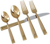 Bed Bath & Beyond Golden Sculpture 5-Piece Flatware Set