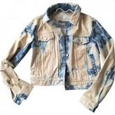 Yves Salomon Blue Denim - Jeans Jacket for Women