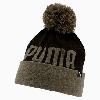 Puma Slope Cuff Pom Beanie
