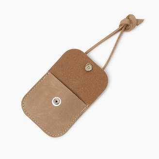 Roots Leather Tie Pouch