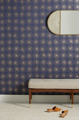 Anthropologie Goodbye Moon Midnight Wallpaper By in Blue Size ALL
