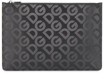 Dolce & Gabbana Mania zipped clutch