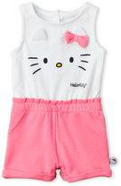 Hello Kitty Newborn/Infant Girls) Kitty Knit Romper