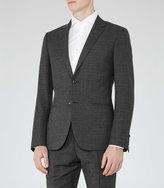 Reiss Reiss Mitre B - Wool Modern-fit Blazer In Grey