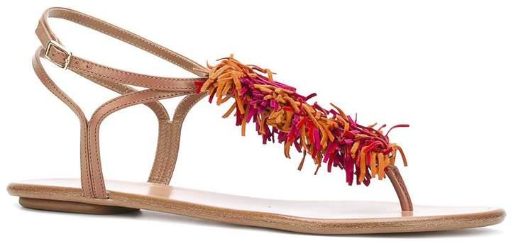 Aquazzura 'wild thing' flat sandals