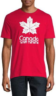 Canadian Olympic Team Collection Maple Leaf Canada Graphic Tee