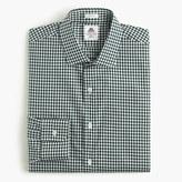 Thomas Mason for J.Crew Ludlow shirt in green gingham