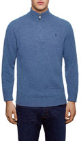 Hackett London Lambswool Half Zip Knit Jumper
