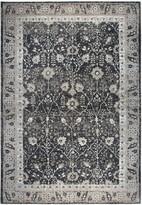 Panache Rizzy Home Traditional Distressed Ornate II Geometric Rug