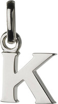 Links of London Alphabet K sterling silver charm