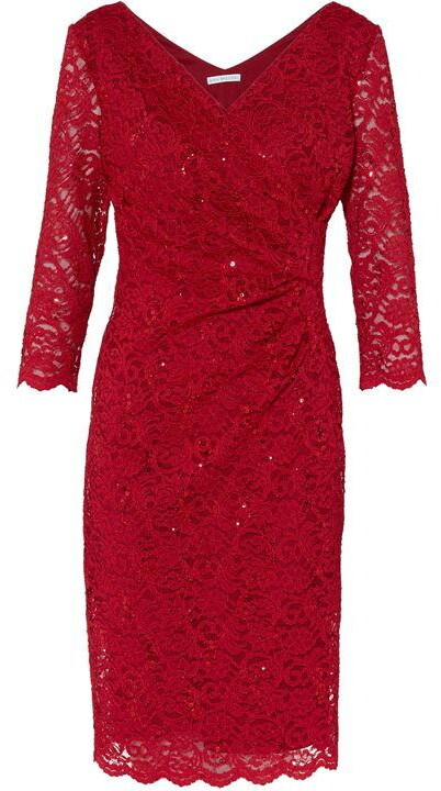 Thumbnail for your product : Gina Bacconi Aruna Sequin Lace Dress