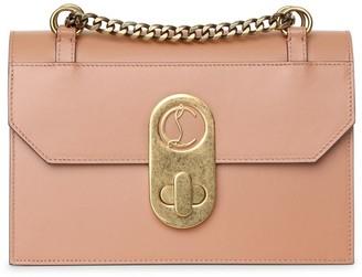 Christian Louboutin Elisa Small beige shoulder bag