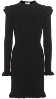 Fendi Wool-blend sweater dress