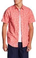 Trunks Surf and Swim CO. Maui Short Sleeve Linen Blend Shirt