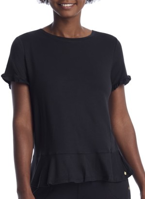 Kate Spade Short Sleeve Knit Lounge Top