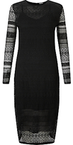 Marella Alain Lace Dress, Black