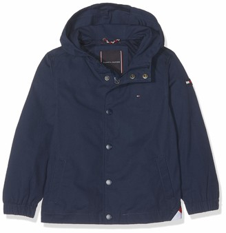 Tommy Hilfiger Boy's Hooded Coach Jacket Coat