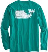 Vineyard Vines Long-Sleeve Vintage Whale Fill Pocket T-Shirt