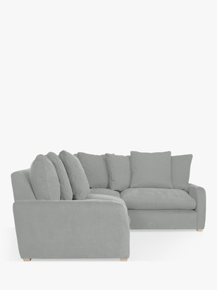 loaf Floppy Jo LHF Corner End Sofa by at John Lewis, Clever Softie Pewter
