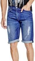 GUESS Men's Regular Denim Shorts