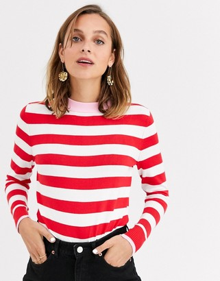 Gianni Feraud striped knit sweater
