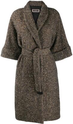 Peserico Wrap-Style Coat