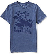 Class Club Big Boys 8-20 Short-Sleeve Lobster Graphic Tee