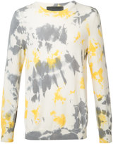 The Elder Statesman cashmere tie dye jumper