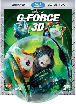 Disney G-Force Blu-ray 3D, Blu-ray and DVD