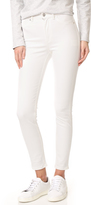 Cheap Monday High Spray White Jeans