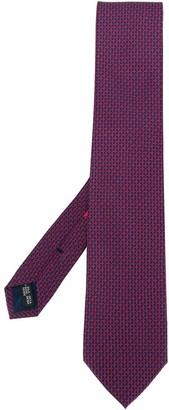 Salvatore Ferragamo Gancini geometric print tie