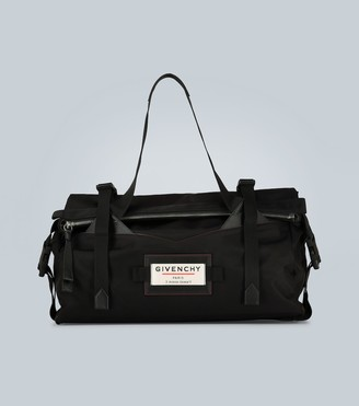 Givenchy Downtown leather-trimmed holdall