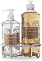 Williams-Sonoma Williams Sonoma Spiced Chestnut Hand Soap & Dish Soap, Classic 3-Piece Set