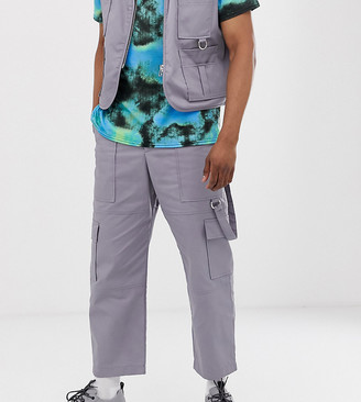 The Ragged Priest utility trousers in grey