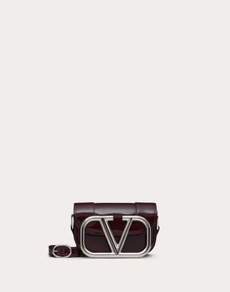Valentino Small Supervee Patent Crossbody Bag Women Rubin 100% Pelle Di Vitello - Bos Taurus OneSize
