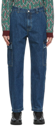 This Is Never That thisisneverthat Blue Denim Cargo Pants