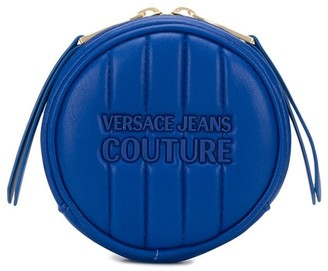 Versace Quilted Round Coin-Purse